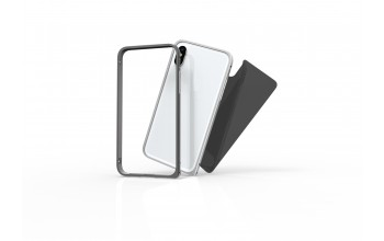 Protective Set Aluminium Bumper and Backglass for iPhone X