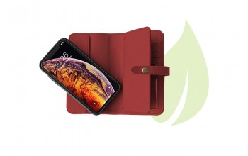 Wallet Prime for iPhone XS GreenNu - cherry red