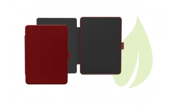 "Sporty Case for iPad 9,7"" GreenNu -cherry red"