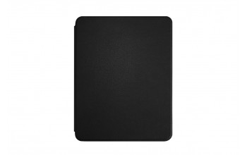 "Faux Leather Bookcase for iPad 11"" - black"