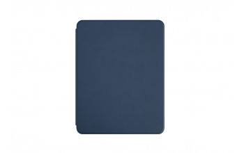 "Faux Leather Bookcase for iPad 11"" - blue"