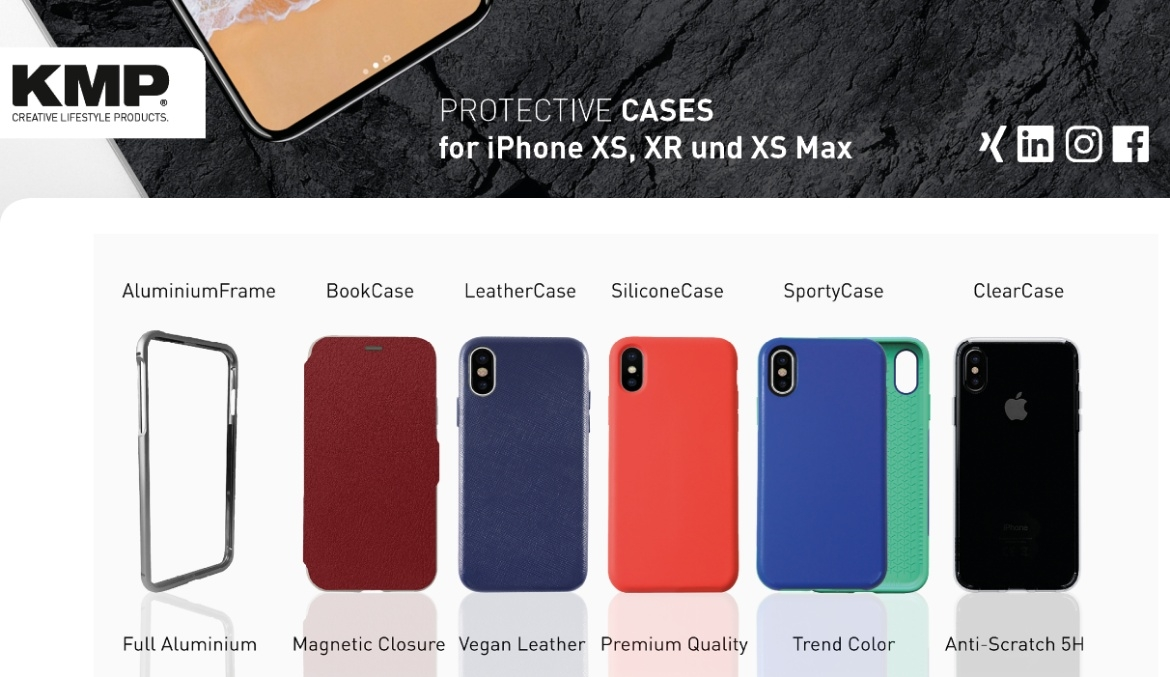 Protetive Cases for iPhone XS, iPhone XS Max, iPhone XR